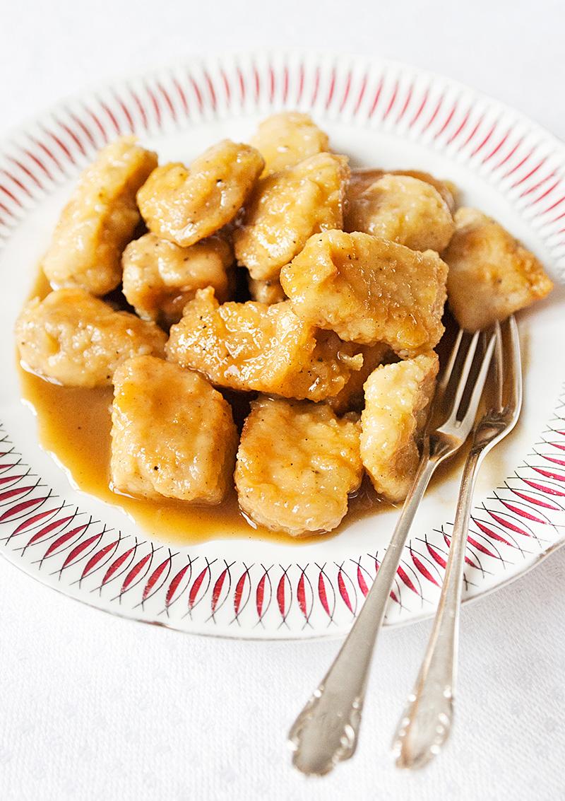 Kyckling med honung och senap