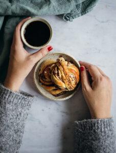 Kanelbullar och kaffe