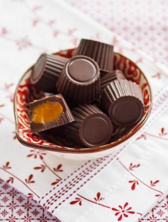 Chokladpraliner med saffranskola