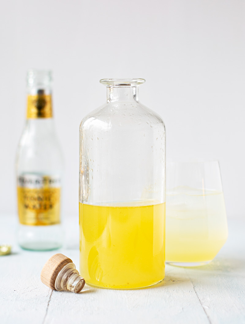 Bergamott syrup