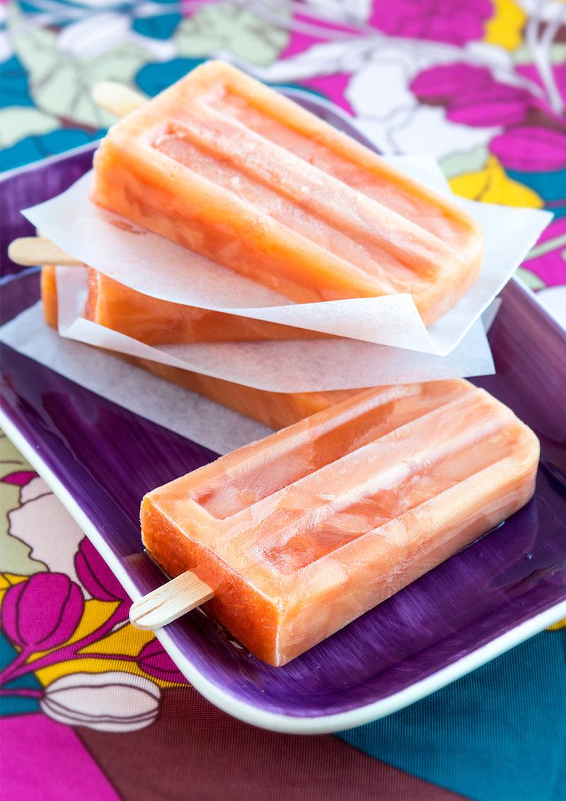 Apelsin- och tranbärspinnar
