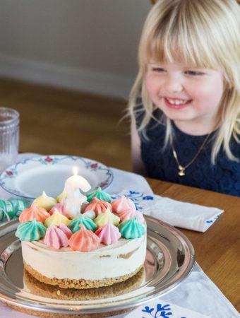 Glasstårta med dulce de leche