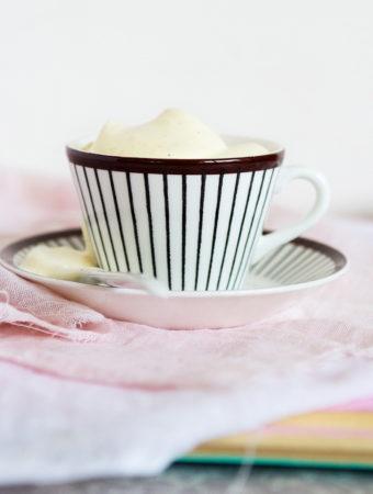 Rårörd vaniljkräm