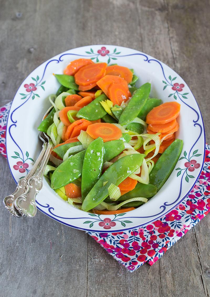 Balsamicomarinerade grönsaker