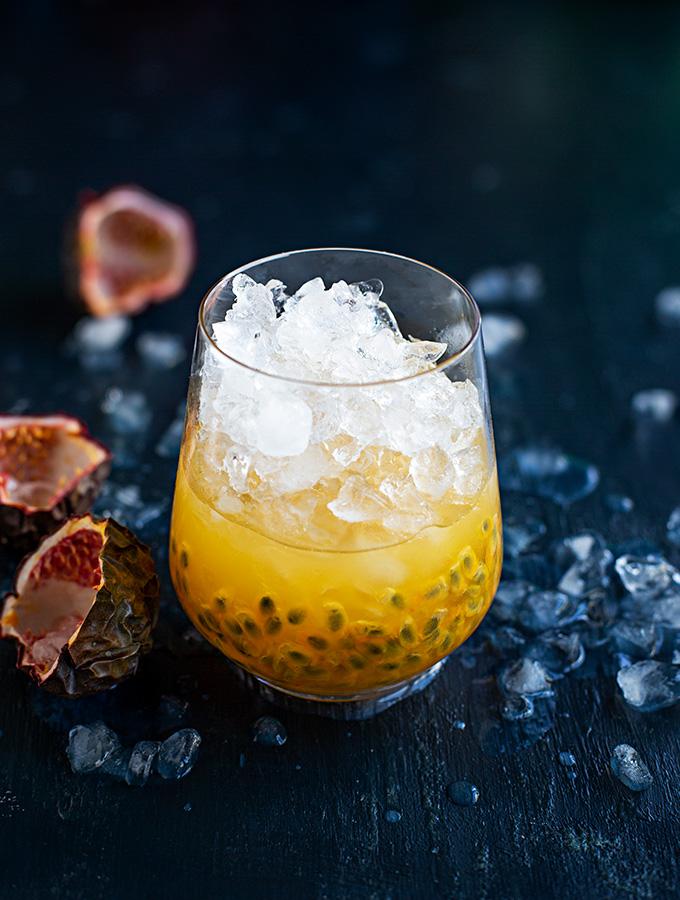Caipirinha med passionsfrukt