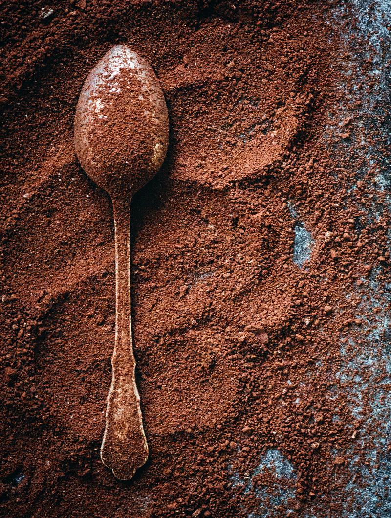 Varm choklad-pulver