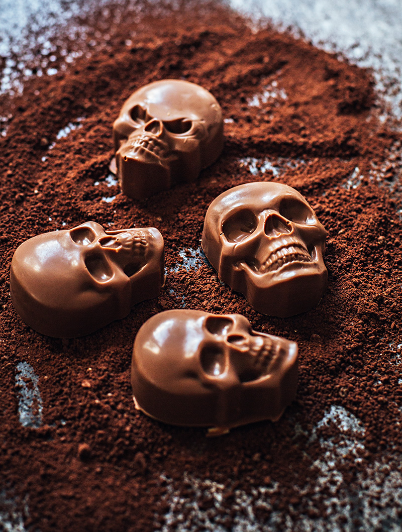 Dödskallechoklad