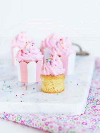 Ägg- och mjölkfria minicupcakes
