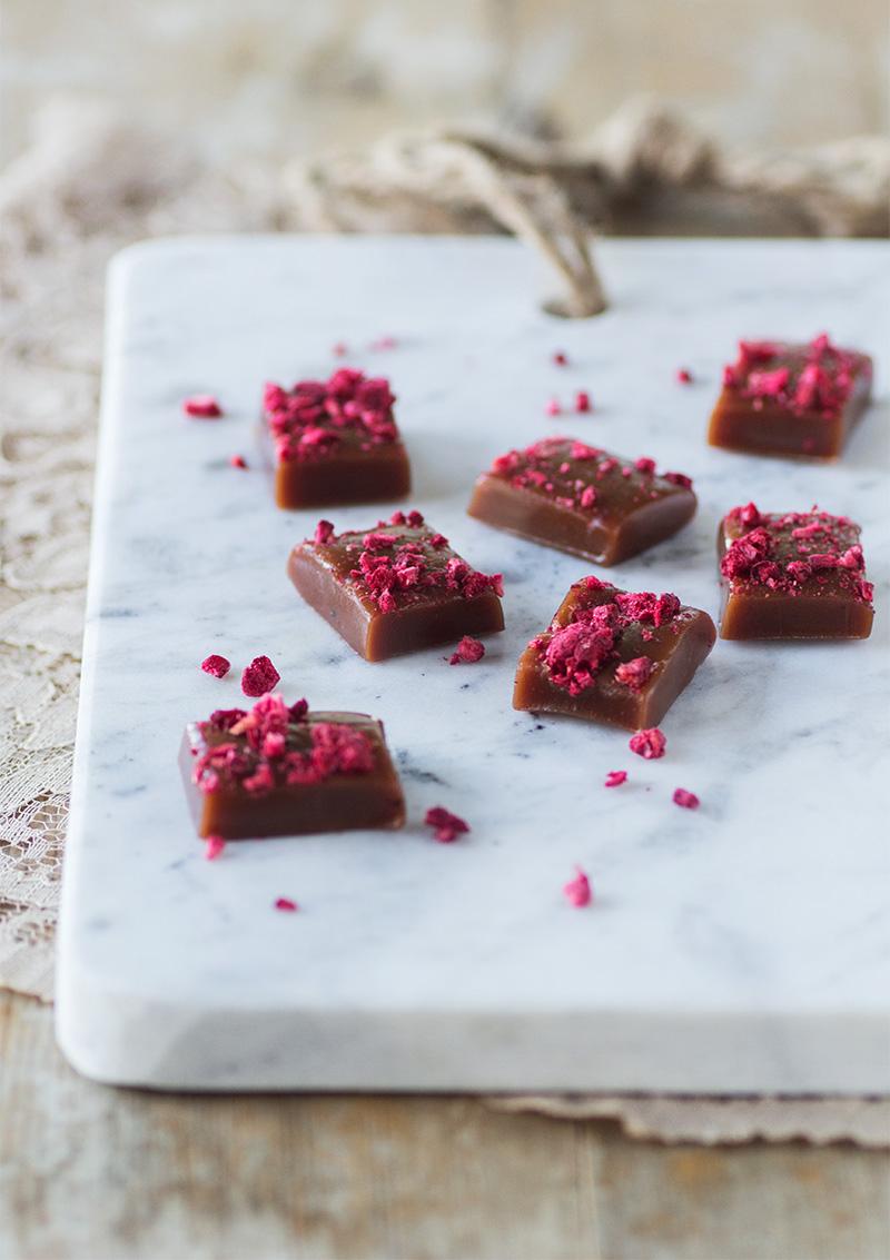 Chokladkola med hallon