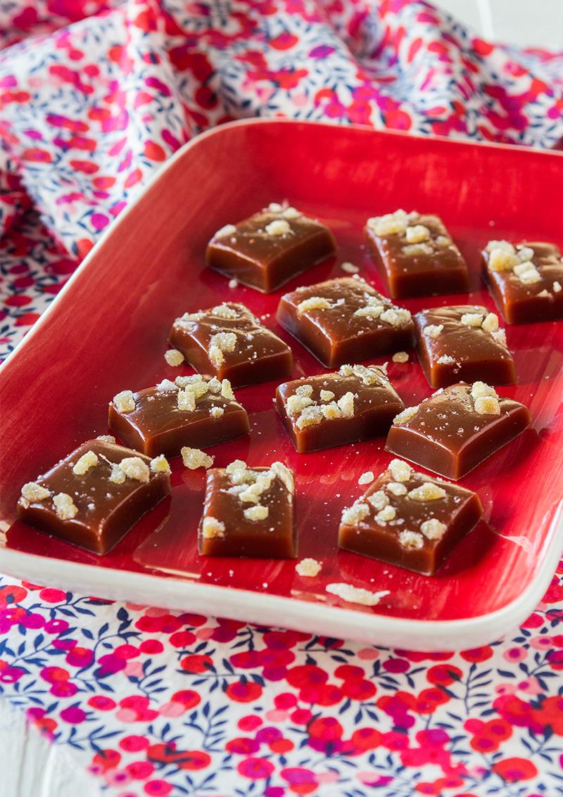 Chokladkola med ingefära