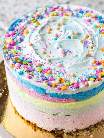 Glasstårta till 6-årskalas