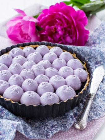 Blåbärspaj med blåbärsmaräng