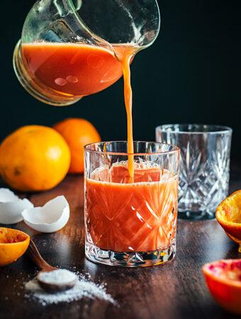 Apelsinjuice de luxe