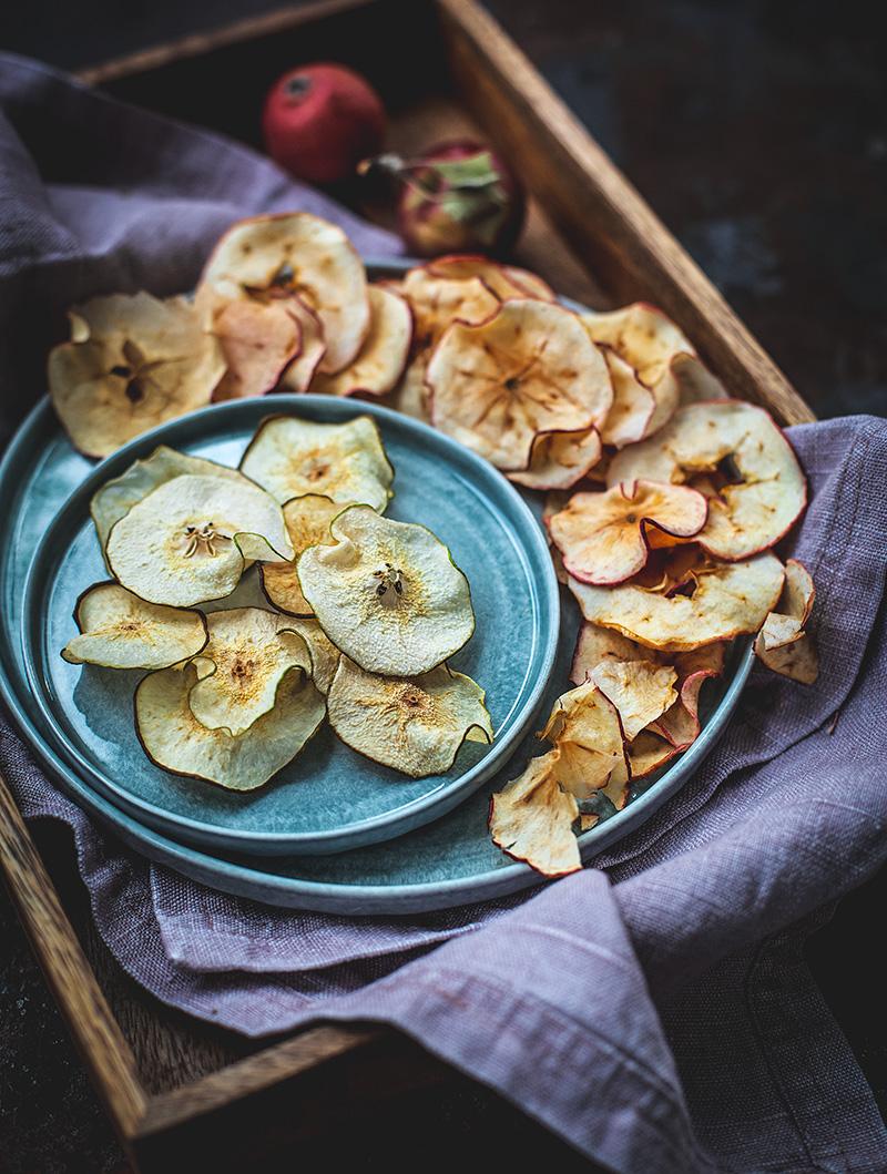 Äppel- och Päronchips
