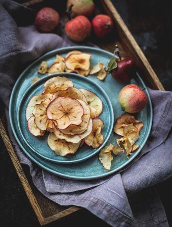 Äppelchips