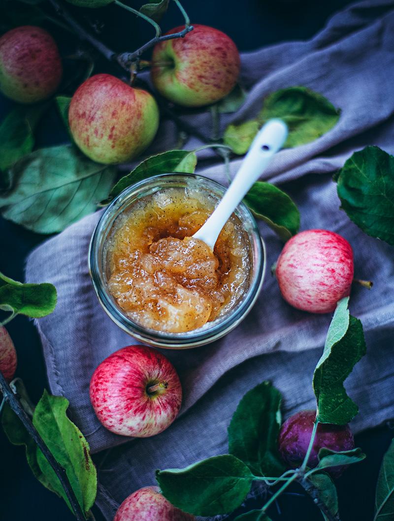 Äppelmarmelad med chaite
