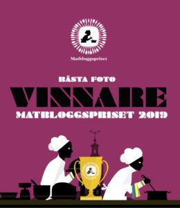 Matbloggspriset Bästa foto 2019