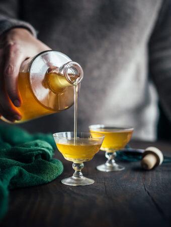 Äppellikör med vanilj